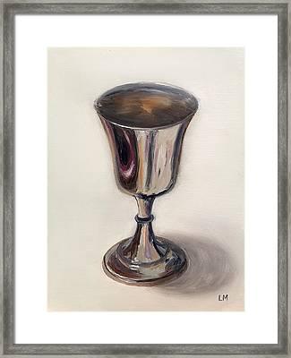 Silver Goblet Framed Print