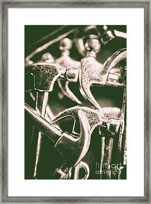 Silver Hammers Framed Print