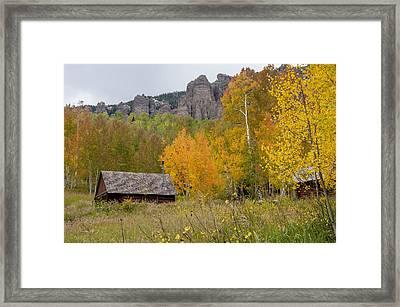 Silver Jack Reservoir 3 Framed Print by Paul Cannon