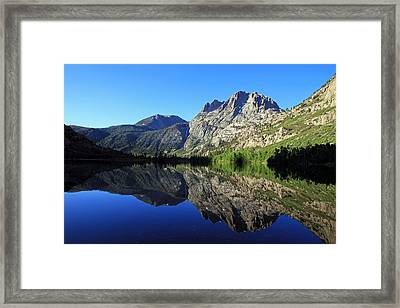 Silver Lake Framed Print by Donna Kennedy