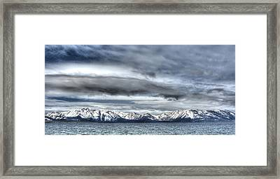 Silver Lake Tahoe Framed Print