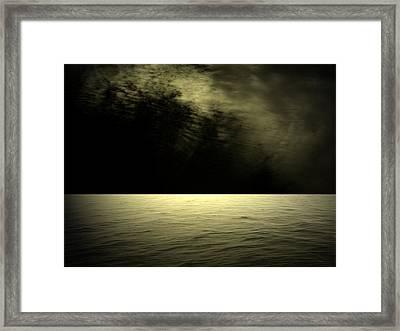 Silver Light Framed Print by Juana Maria Garcia-Domenech