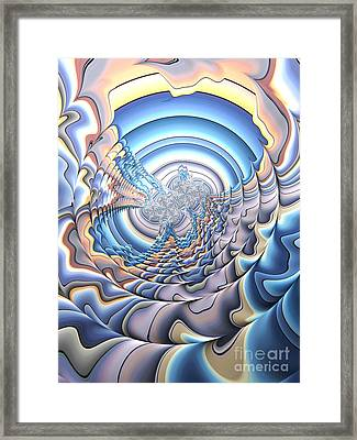 Silver Lining Framed Print by John Edwards