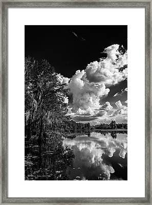 Silver Linings Framed Print