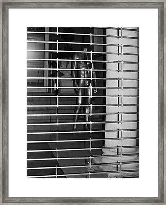 Silver Mannequin II Framed Print by Anna Villarreal Garbis