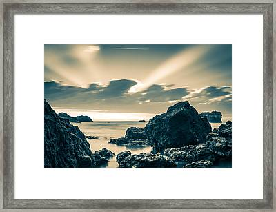 Silver Moment Framed Print by Thierry Bouriat