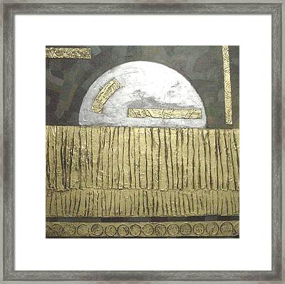 Silver Moon Framed Print by Bernard Goodman