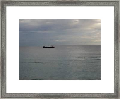 Silver Morn Framed Print by Karen Thompson