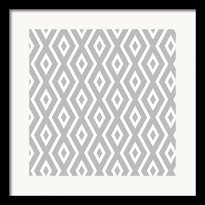 Gometric Shapes Framed Prints
