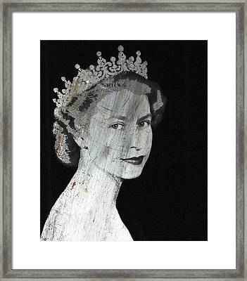 Silver Queen 2 Framed Print by Tony Rubino