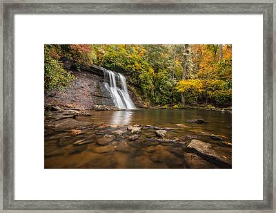 Silver Run Falls Nantahala National Forest North Carolina Framed Print