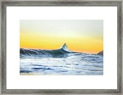 Silver Sails Framed Print