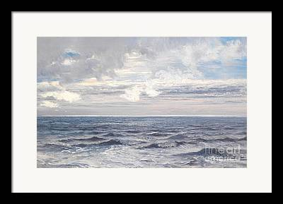 Deep Blue Sea Framed Prints