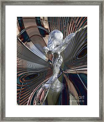 Silver Shadow Framed Print by Chuck Brittenham