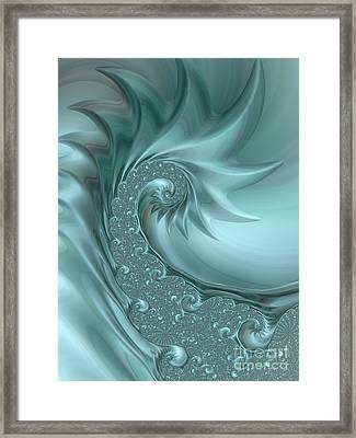 Silver Spur Framed Print