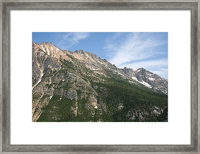 Silver Star Mountain Fc Framed Print by Dylan Punke
