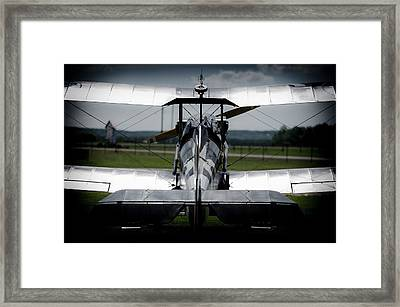 Silver Wings Framed Print by Ralf Weyler