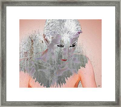 Silver Woman 10 Framed Print