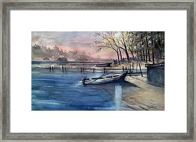 Silvercryst Beach Framed Print