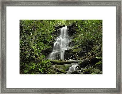 Silverspray Falls - Tillman Ravine Framed Print