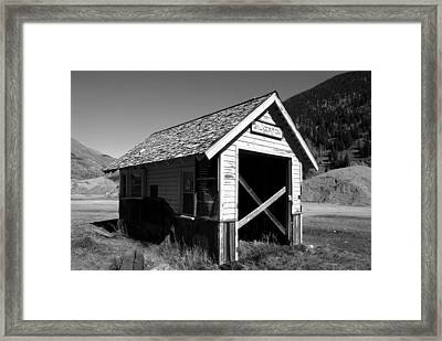 Silverton Depot Framed Print by David Lee Thompson