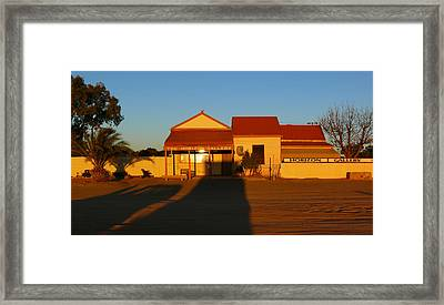 Silverton Framed Print by Evelyn Tambour