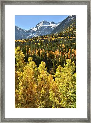 Framed Print featuring the photograph Silverton Mountainscape by Ray Mathis