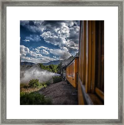 Silverton Train Framed Print