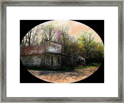Silverville Ghost Town Framed Print