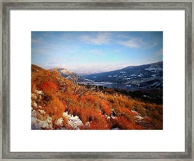 Framed Print featuring the photograph Silverwood Lake - California by Glenn McCarthy Art and Photography