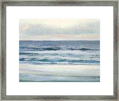 Silvery Morn Framed Print