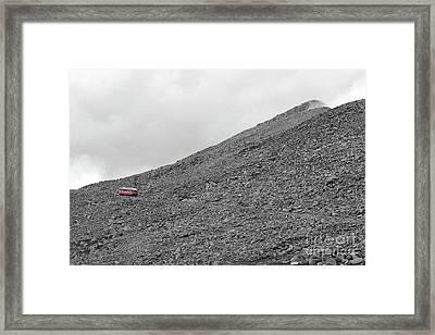 Simmon's Vision Framed Print