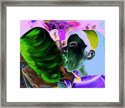 Simone Framed Print by Kevin Callahan