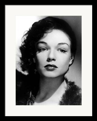 Signoret Framed Prints
