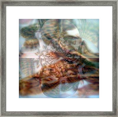 Simple And Unpretentious Framed Print by Fania Simon