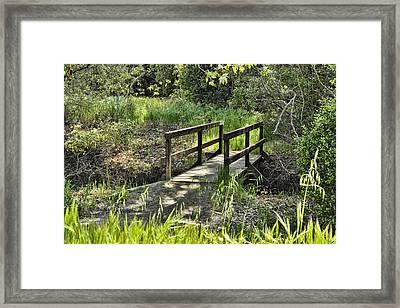 Simple Bridge Framed Print