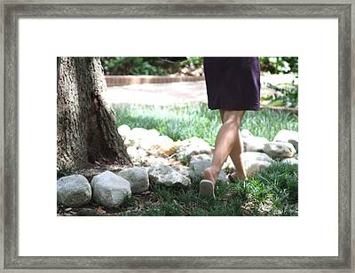 Simple Framed Print by Gracey Tran