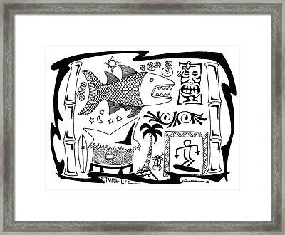Simple Life Framed Print by Aaron Bodtcher