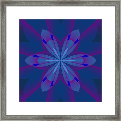 Simple Lines Framed Print