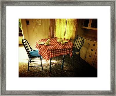 Simple Pleasures Framed Print by Connie Handscomb