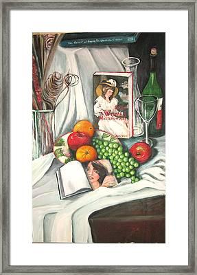 Simple Pleasures Framed Print by Eileen Kasprick