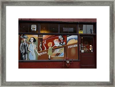 Showtime Framed Print by Fraida Gutovich