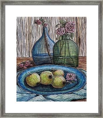 Simple Pleasures Framed Print