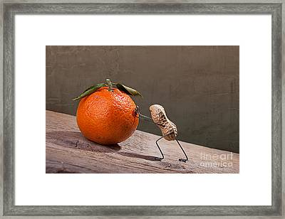 Simple Things - Sisyphos 01 Framed Print