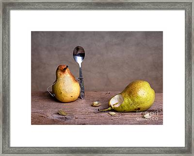 Simple Things 14 Framed Print by Nailia Schwarz