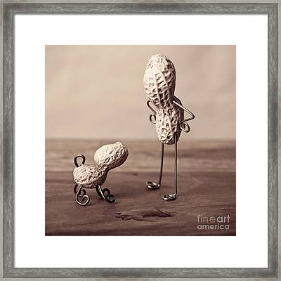 Simple Things 18 Framed Print by Nailia Schwarz