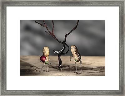 Simple Things - Paradise Framed Print by Nailia Schwarz
