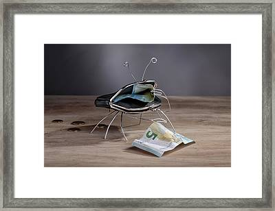 Simple Things - The Crab Framed Print