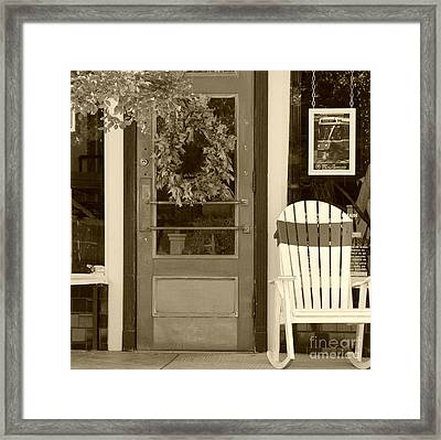 Simple Times Framed Print by Debbi Granruth