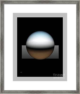 Simplicity 25 Framed Print by John Krakora